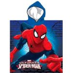 Ultimate Spiderman Hooded Poncho Towel